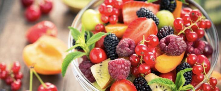porzioni frutta