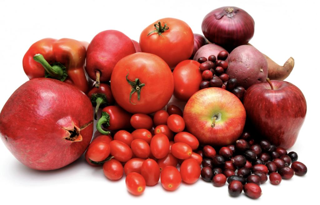 alimenti colore rosso