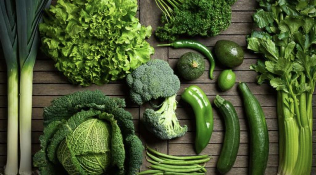 alimenti verdi