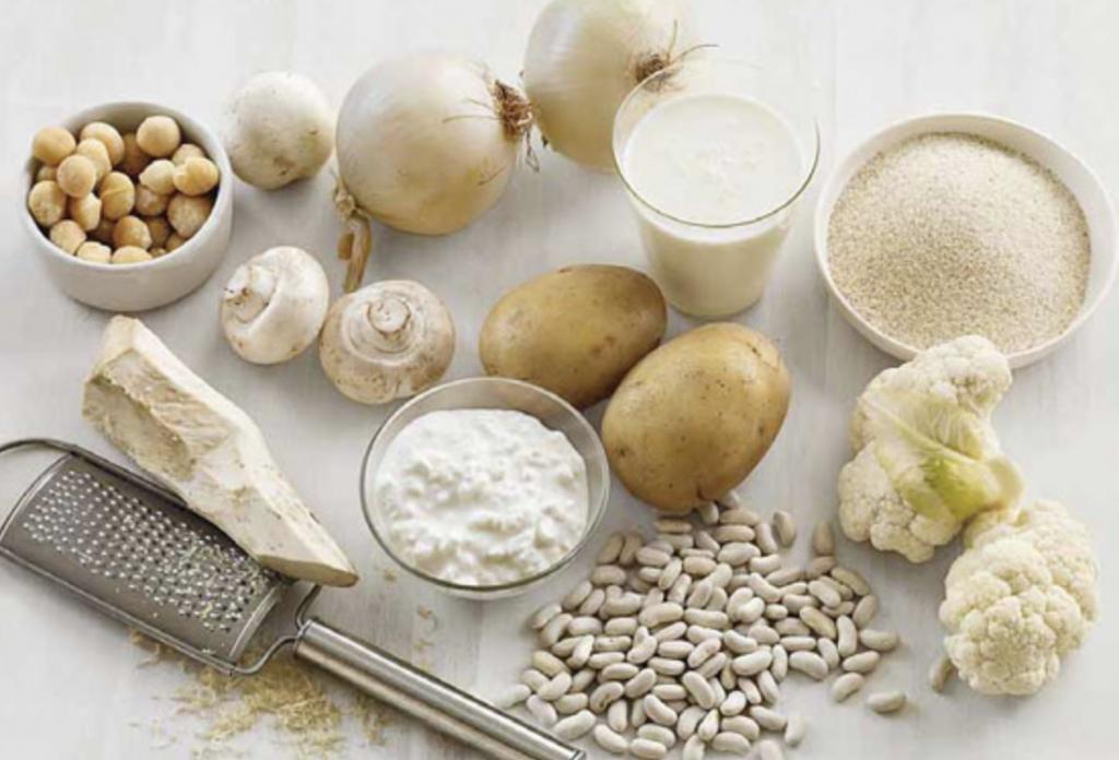 alimenti bianchi